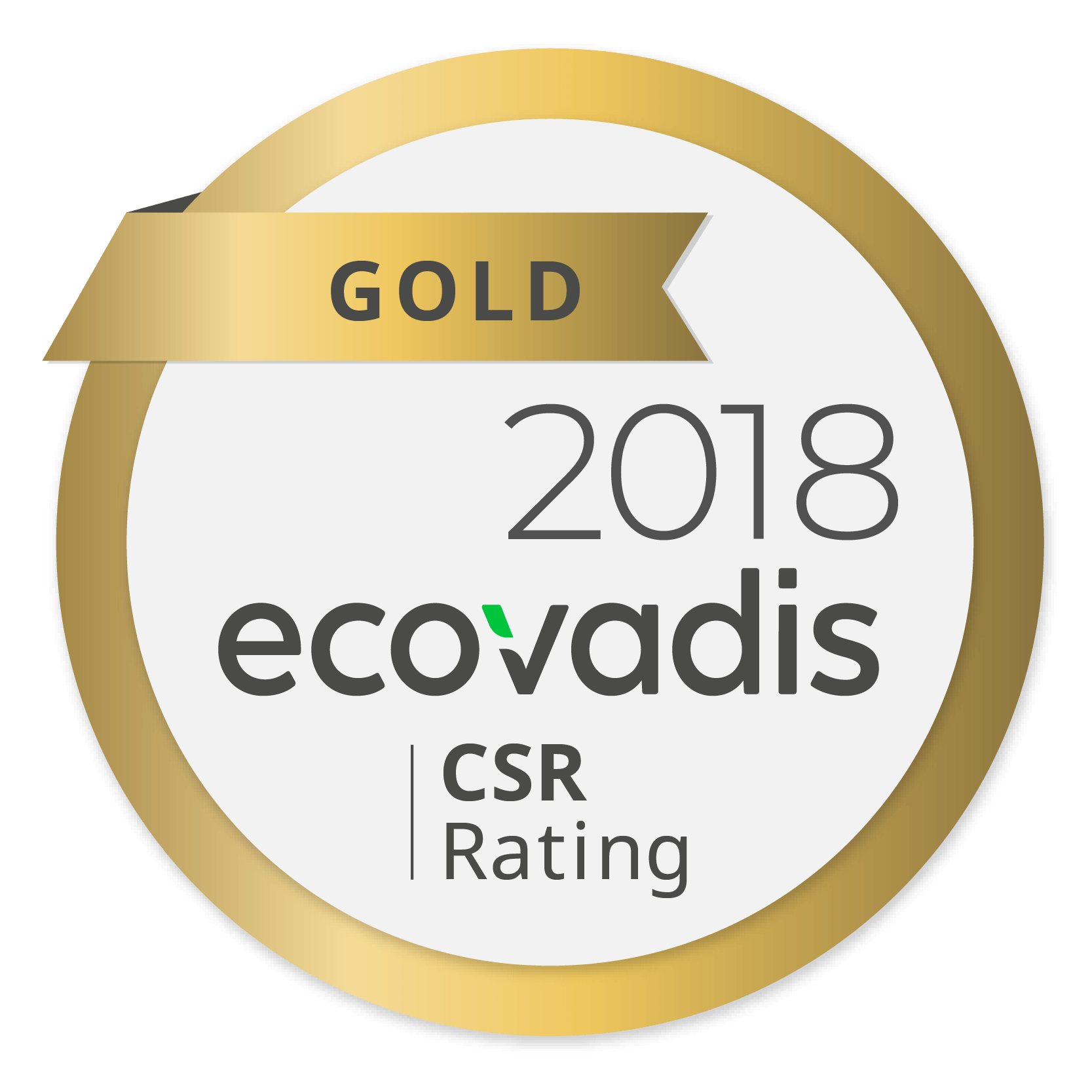 Ricoh awarded highest gold rating in EcoVadis global supplier survey for fourth year running