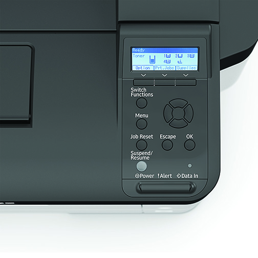 P 800 - Office Printer - Detail View